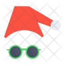 Santa Claus Spectcles Icon