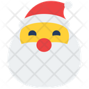 Santa Claus Santa Feeling Icon