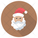 Cartoon Claus Santa Icon