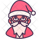 Santa Claus Christmas Holiday Icon