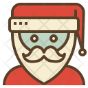 Santa Claus Avatar Icon