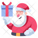 Santa Holiday Christmas Icon