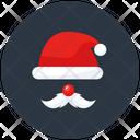 Santa Claus Christmas Santa Christmas Costume Icon