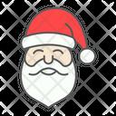 Santa Claus Merry Icon
