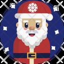 Christmas Santa Santa Claus Icon