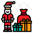 Santa Claus Xmas Christmas Icon