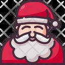 Santa Claus Christmas Xmas Icon