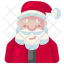 Santa Claus Father Christmas Xmas Icon