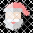 Santa Claus Xmas Happy Icon