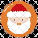 Santa Claus Christmas Winter Icon