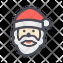 Santa Claus Santa Santa Face Icon