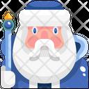 Santa Claus Christmas Holiday Icon