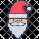 Santa Claus Santa Face Face Icon
