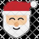 Santa Claus Christmas Winter Gift Icon