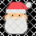 Santa Claus Santa Hat Gift Icon