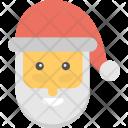 Santa Claus Beard Icon
