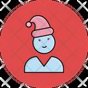 Santa Claus Christmas Christmas Hat Icon
