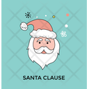 Santa Claus Beard Icon
