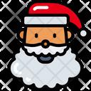 Santa Character Holidays Icon