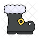 Santa Claus Boot Icon