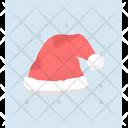 Santa Claus Cap Christmas Santa Hat Christmas Hat Icon