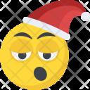 Santa Emoticon Happy Icon