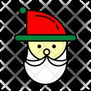 Color Santa Christmas Icon