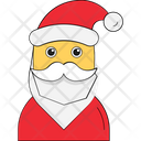Santa Claus Christmas Santa Claus Face Icon