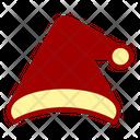Santa Hat Christmas Winter Accessory Icon