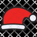 Santa Hat Christmas Hat Icon