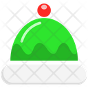 Santa Hat Cap Hat Icon