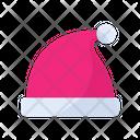 Santa Hat Hat Xmas Icon