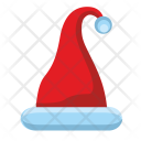 Santa Red Cap Icon