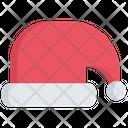 Santa Hat Clothing Holidays Icon