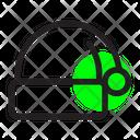 Christmas X Mas Hat Icon