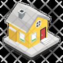 Santa House Icon
