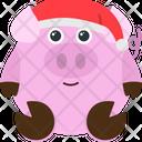 Santa Hat Emoji Emoticon Icon