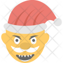 Santa Claus Smiling Icon