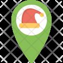 Santa Tracker Here Icon