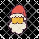 Santa Claus Man Icon