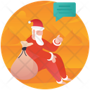 Santa Claus Christmas Gift Christmas Santa Icon