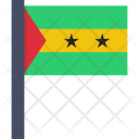 Sao Tome And Icon