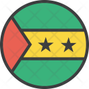 Sao Tome Country Icon
