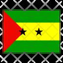 Sao Tome And Principe Flag Flags Icon