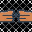 Sapce Gaps Interval Icon