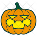 Sarcastic Pumpkin Icon
