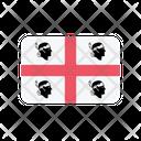 Sardinia Flag Country Icon