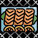 Sashimi Lemon Seafood Icon