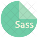 Sass File Format Icon