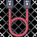 Sata Cable Wire Icon